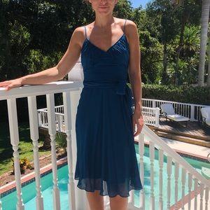 BCBG Blue/Teal Cocktail Dress - XS